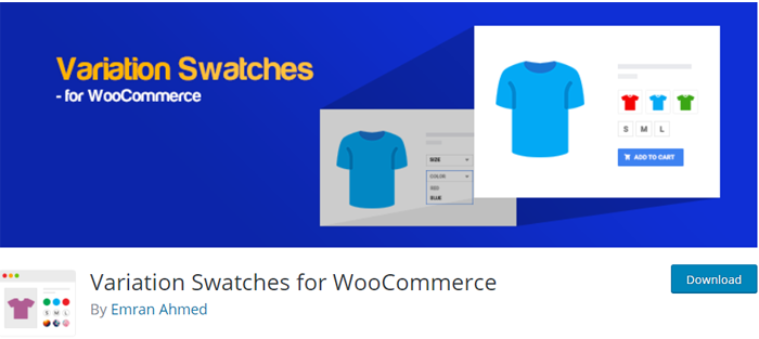 WooCommerce Variation Swatches for Products