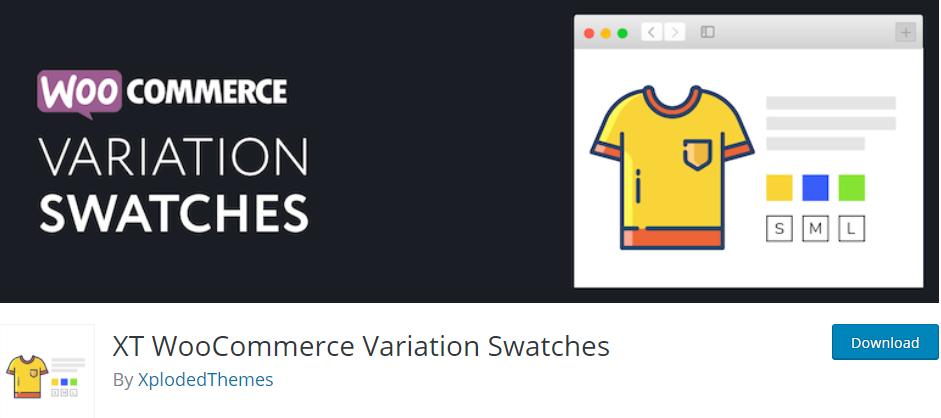 XT WooCommerce Variation Swatches